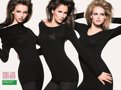 Benetton Pin Up