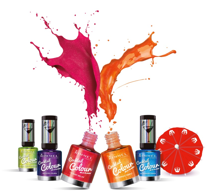 Cocktail Colour range b