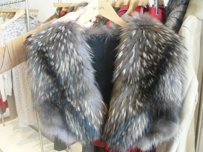 Beautiful faux fur vest