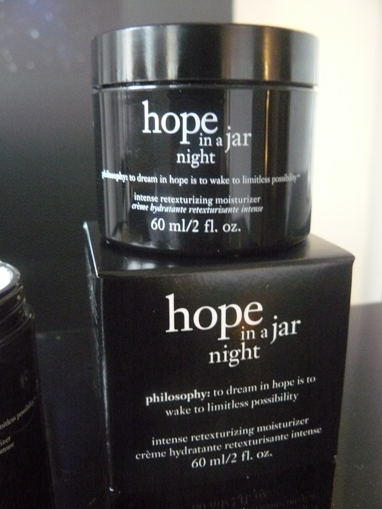 Hope in a jar night - being tested as we speak!