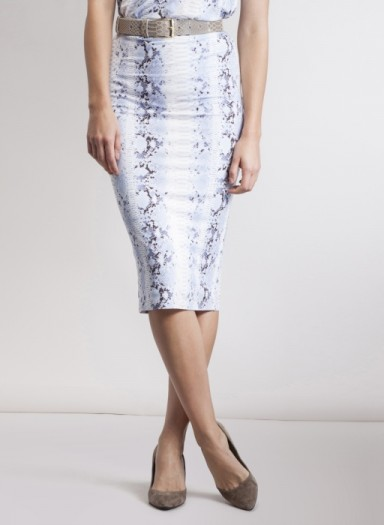 Malta Print Skirt