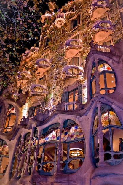 Casa Batlló, Barcelona Spain - Gaudi