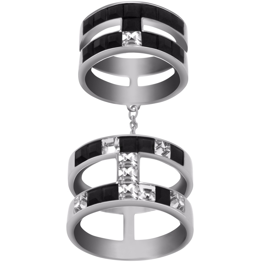 Frozen Crystals Double Ring 179 euro
