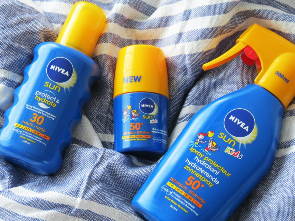 Thank you Nivea for making beach days easier with my kids!